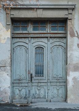 old dilapidated door