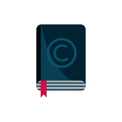 book literature property intellectual copyright icon