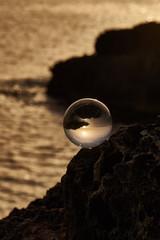 Tramonto Salentino nella sfera di cristallo