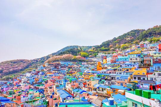 Gamcheon Cultural Village at Busan, South Korea