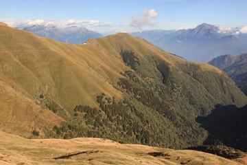 Zauberhafte Alpenlandschaft am Comer See (Valle Albano)