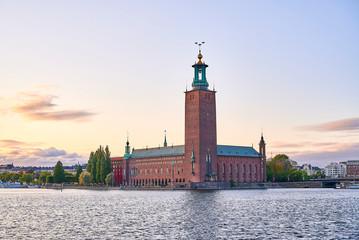 Foto auf Leinwand Stockholm Stockholm City Hall