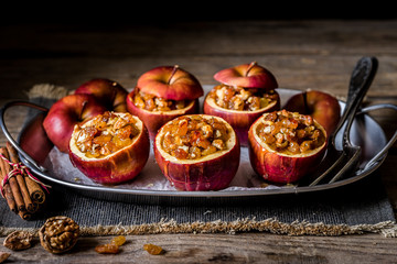 Baked Stuffed Apples