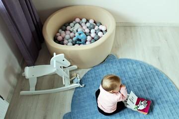 Obraz pokój dziecka - fototapety do salonu