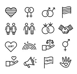 LGBT Icons Collection