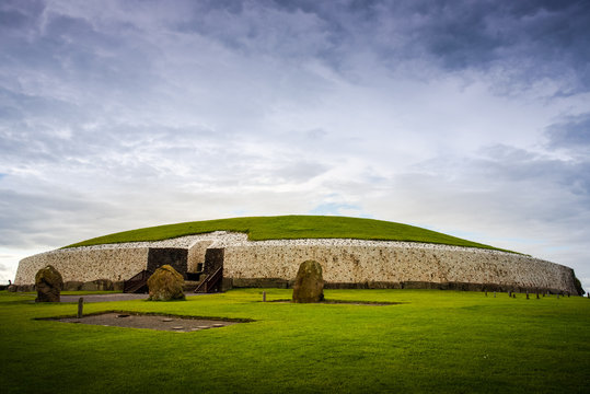 Newgrange passage tomb in the Boyne valley