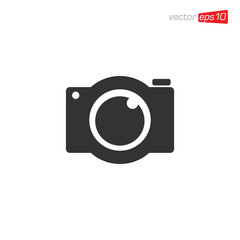 Camera Icon Design Vector Template