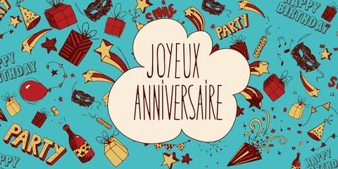 French Happy Birthday