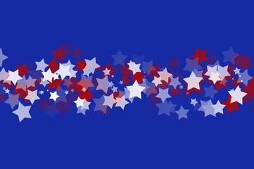 Illustrated Stars Background