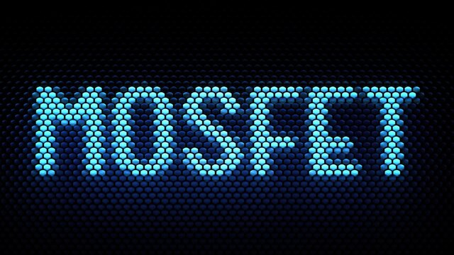 MOSFET acronym (metal–oxide–semiconductor field-effect transistor)