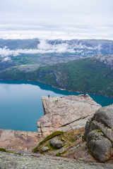 Prekestolen or Pulpit Rock.