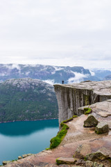 Pulpit Rock or Preikestolen.