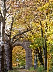 Stadttor im Herbst in Spandau