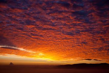 Photo sur Aluminium Bordeaux sunrise