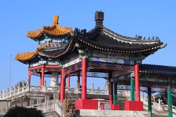 孔子公園 中国風の建築物
