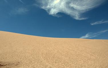 sand dunes and blue sky Fototapete