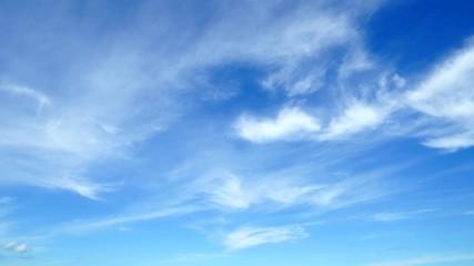Wall Mural - 青空 タイムラプス