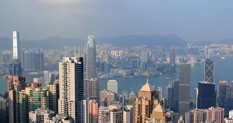 Wall Mural - Hong Kong skyline