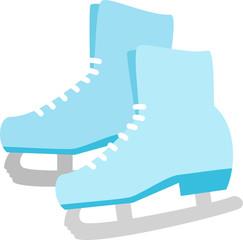 フィギュアスケートのシューズ