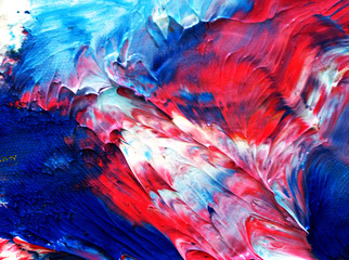 colorful oil painting multi colors abstract background with texture.