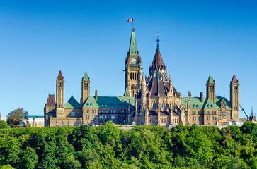 Autocollant pour porte Canada Ottawa Parliament Hill