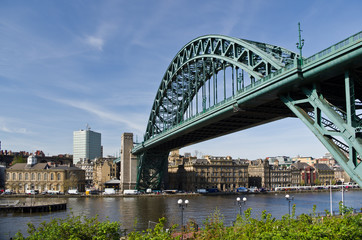 Tyne Bridge At Newcastle - from Gateshead