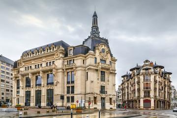 Grangier square, Dijon, France