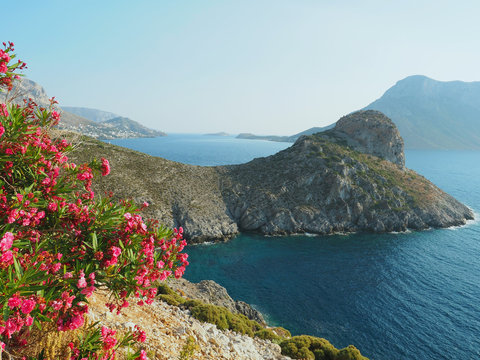 Kalymnos - Westküste bei Massouri