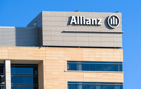 Allianz Corporate Building and Logo