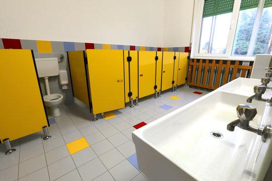 bathroom of school