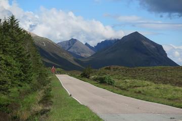 Unterwegs auf der Isle of Skye, Schottland