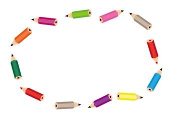 鉛筆のフレーム