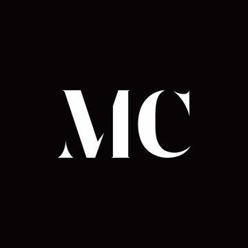 MC Logo Letter Initial Logo Designs Template