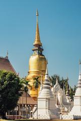 Wat Suan Dok temple in Chiang Mai, Thailand