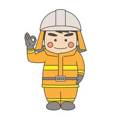 消防士オッケー