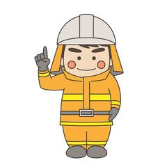 消防士説明