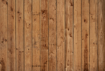 Dark old vertical wood panels with nice patterns and knotholes Wall mural