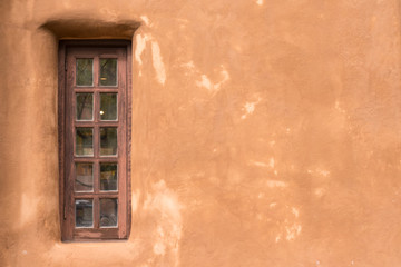 Old Southwestern Adobe Wall and Window