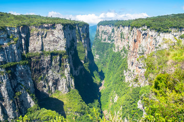Beautiful landscape of Canyon Itaimbezinho - Cambara do Sul/Rio Grande do Sul - Brazil