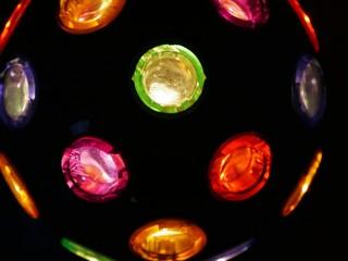 Bunte Leuchtkugel