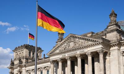 Zelfklevend Fotobehang Berlijn Berlin_Reichtagsgebäude_Deutscher Bundestag