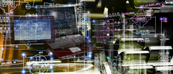 engineering computer technology in industry construction