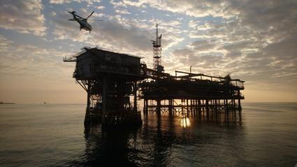 Fototapeta Offshore Rig obraz