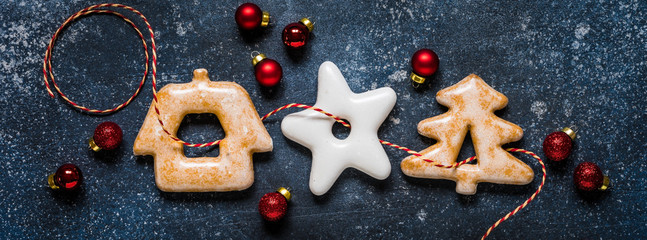 Christmas Gingerbread, banner
