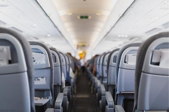 飛行機機内の座席 エコノミークラス