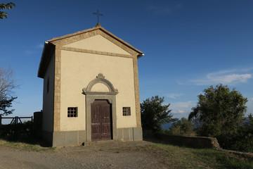 little chapel near the lake of Bolsena in Italy