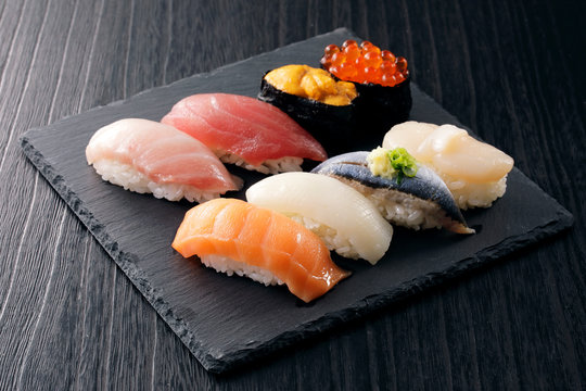 寿司 Sushi. Japanese food