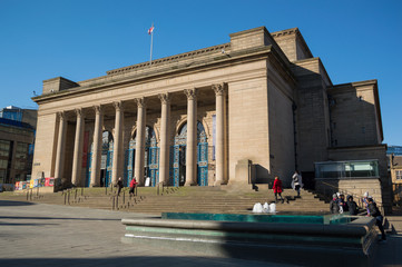 Sheffield city hall on a sunny morning in South Yorkshire, UK