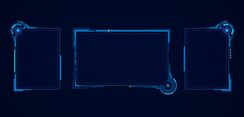 abstract hud ui gui future futuristic screen system virtual design