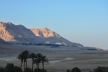 Judean desert in the east of Israel.